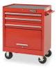 Rolling Tool Cabinet,27 Wx35 H,3 Drawer -- 1ZML6