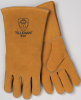 810 Stick Welding Gloves - Side split cowhide, cotton lined, kevlar sewn welding gloves > SIZE - L > STYLE - 12/Pr/Pk > UOM - Pair -- 810-L
