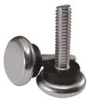 Stud Mount Leveling Feet - Plastic Rigid Base -- 465355 - Image
