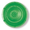 759242 - BRAND Round Caps for Ultra-Micro UV-Cuvettes, Green, 100/pack -- GO-06343-92