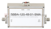 6 GHz to 12 GHz, 48 dB Gain Broadband High Gain Amplifier with 1 Watt and SMA -- SBBA-120-48-01-SMA -Image