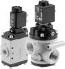 Poppet Valve - Solenoid Pilot Actuated -- NF Series