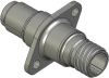 Honeywell Harsh Application Aerospace Proximity Sensor, HAPS Series, Inline cylindrical flanged form factor, 2,50 mm/3,50 range, 3-wire open collector output normally closed, D38999/25YA98PN terminati -- 1PCFD3BANN-000 -- View Larger Image