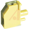 Panel Feed Through Terminal Block, AWG:30-10, Yellow-Green -- 70169411