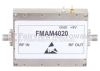 40 dB Gain High Power GaAs Amplifier at 5 Watt P1dB Operating from 17.5 GHz to 21.5 GHz with 45 dBm IP3, 2.92mm Input, 2.92mm Output -- FMAM4020 -- View Larger Image
