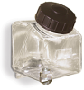 Square Polycarbonate Reservoir, 1 quart -- B2747-16 -- View Larger Image