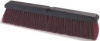 BRUSH FLOOR 24IN HEAVY SWEEP MAROON THREADED POLYPRO -- CSM3620722400