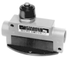 Enclosed Switches Series BZG/BZH: Top Plunger Actuator; 1NC 1NO SPDT Snap Action; 1/2 in - 14NPT conduit -- BZH1-2RN