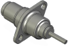 Honeywell Harsh Application Aerospace Proximity Sensor, HAPS Series, Inline cylindrical flanged form factor, 2,50 mm/3,50 range, 3-wire current sinking output near/fault/far, 213,36 cm [84.0 in] pigta -- 1PCFD3AHGN-000 -- View Larger Image