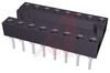 Socket, DIP;16Pins;Eco 500 Series;Closed;0.3In.;Beryllium Copper;Gold;Thru Hole -- 70207048 - Image