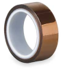 Polyimide Tape,2.5 Mil,1/4 In x 5 Yds -- 15C588