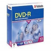 Verbatim - 10 x DVD-R - 4.7 GB 16x - slim jewel case - stora -- 95099