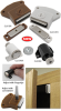 Magnet Latches and Catches -- Adjustable Latch Magnets