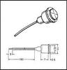 IMLEC - 100-Y - Indicator Lamp -- 991854