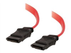 18IN 7-PIN SERIAL ATA DEVICE CABLE CONNECT SERIAL -- 10152