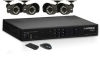 Lorex LH328501C4 DVR and Camera Surveillance System - 8 Chan -- LH328501C4