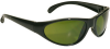 Bouton Optical Pirana 250-40-00 Universal Polycarbonate Standard Welding Glasses Shade 3.0 Lens - Black Frame - Full Frame - 616314-19975 -- 616314-19975