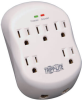 Protect It! 5-Outlet Surge Protector, Direct Plug-In, 1080 Joules, 1-Line RJ11 Protection -- SK5TEL-0