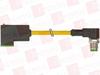 MURR ELEKTRONIK 7000-41101-0360100 ( M12 MALE 90° / MSUD VALVE PLUG FORM C 8 MM, PUR 3X0.75 YELLOW, UL/CSA, DRAG CH 1M ) -Image