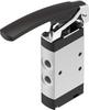 Finger lever valve -- VHEF-L-M52-M-G18 -Image