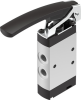 Finger lever valve -- VHEF-L-M52-E-G18 -Image