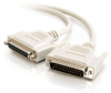 10ft DB25 M/F Extension Cable -- 2309-02656-010 - Image