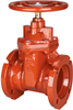 Gate Valve – Ductile Iron, Irrigation, Mechanical Joint -- MJ-619-RW