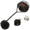 Modular Connectors - Adapters -- 298-12750-ND