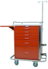 Classic Tall Six Drawer Crash Cart Specialty Package 6401 -- 6401 -- View Larger Image