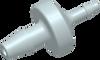 Barb to Barb Reducing Disc Check Valve -- AP19CV037R18NL -- View Larger Image