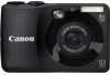 Canon PowerShot A1200 12.1 Megapixel Compact Camera - Black -- 5032B001 - Image