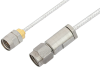 3.5mm Male to 1.85mm Male Cable 48 Inch Length Using PE-SR405FL Coax -- PE36537-48 -Image