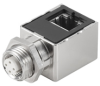 Passive Industrial Ethernet IP67 Plug-In Connector M12 Adaptor / Coupling -- IE-M12-ADAP A - Image