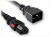 IEC-60320-C20 to IEC-60320-C13 AUTO-LOCK HOME • Power Cords • IEC/Jumper Power Cords • Auto-Lock -- 5345.144AL -Image