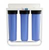 Aquapurion Big Blue 4.5 X 20 Floor Mount Triple Filtration System -- 320-BBF3-20-FM