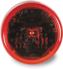 """Grote 47112-3 Clearance/Marker LED Light, 30 Series, 2"""" Round, Red, 12V -- 47910 -- View Larger Image"""