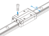 Linear Motion  Guide SSR -- SSR20XW -- View Larger Image