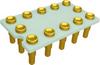 Relay Sockets, Solder Dip/12 Pin -- SCTX-01-12N-NSK60-GG - Image