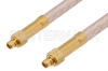 MMCX Plug to MMCX Plug Cable 60 Inch Length Using RG316 Coax, RoHS -- PE34240LF-60 -Image