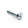 "#10-24 x 1"" Phillips/ Slotted Combo Truss Head Machine Screw, Zinc -- MSCBTR01001024Z - Image"