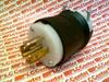 LKG PLUG, 20A 347/600V, L23-20P, B/W -- HBL2531 - Image