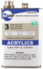 IPS Corp. SCIGRIP 3 Acrylic Plastic Cement, Solvent Based Adhesive Clear 1 gal Pail -- 3 GAL -Image