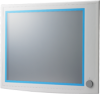"19"" SXGA Industrial Monitors with Resistive Touchscreens, Direct-VGA, and DVI Ports -- FPM-5191G -- View Larger Image"