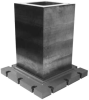 Square Column: Height = 32.00, Width = 16.00 -- 25310