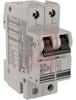 Circuit Breaker;Therm/Mag;Hndl;Cur-Rtg 2A;DIN Rail;2 Pole;Screw Snap;G -- 70077004