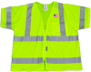 Iron Horse Safety Vest, ANSI Class 3, Large -- 3261L/SV