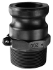 Polypropylene Part F Male Adapter x Male NPT -Image