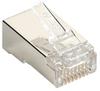 Black Box Connect CAT5e RJ-45 Modular Plugs - Shielded, 100-Pack -- C5E-MP-S-100PAK