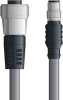 LAPP UNITRONIC® Devicenet™ Thin Extension Cordset - 5 positions female 7/8 inch straight to 5 positions male M12 straight - Continuous Flex - Gray PVC - 1m -- OLFDN4110031F01 -Image