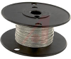 Wire, Braid; 36 AWG; Tinned Copper; 3/16 in.; 0.020 in.; 120; 3000 CMA; 25 A -- 70195052